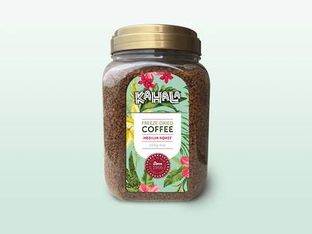 Kahala Freeze Dried Coffee 500gm Jar