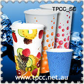 Single Wall Printed Cold Cups