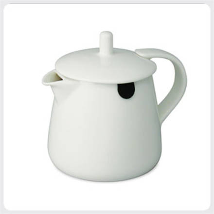 Teabag Teapot - White