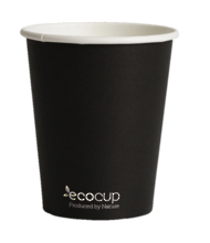 Black EcoCup 225ml