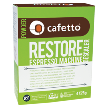 Cafetto Restore Descale 4 x 25g packs