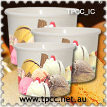 Ice Cream Paper Tubs Printed