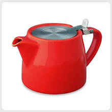 Stump Teapot - Red