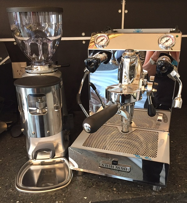 Domobar mazzer grinder combo sml