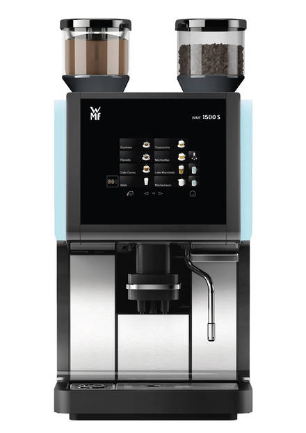 wmf 1500s wmf automatic coffee machines coffee machines beverage services ltd. Black Bedroom Furniture Sets. Home Design Ideas
