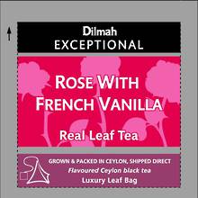 Dilmah Exceptional Tea - Rose with French Vanilla Foiled 30